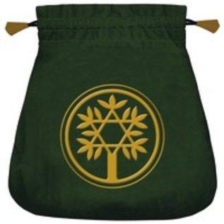 OMEN Celtic Tree Velvet Tarot Bag