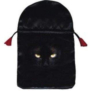 OMEN Black Cat Satin Tarot Bag