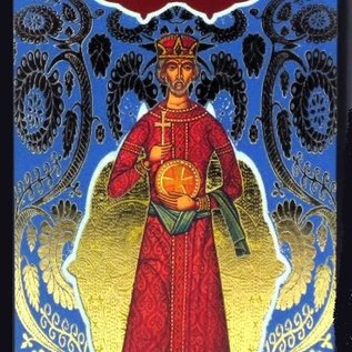 Llewellyn Worldwide Golden Tarot of the Tsar [With Instruction Booklet] (Lo Scarabeo Decks)