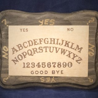OMEN Black Ouija Pendulum Board