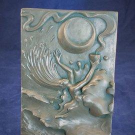 Water Plaque by Ann Zeleny
