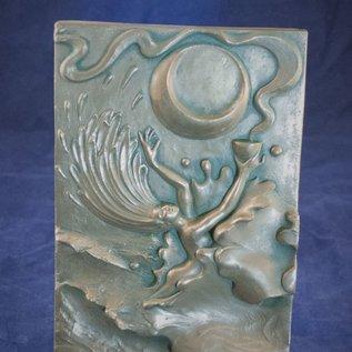 OMEN Water Plaque by Ann Zeleny
