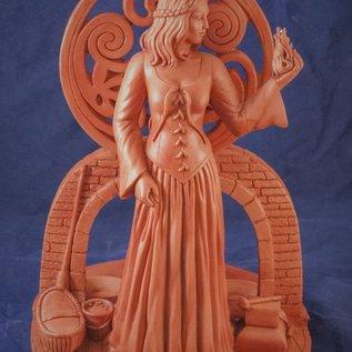 OMEN Brigit Candle Statue