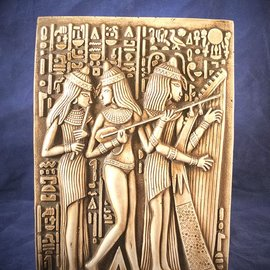 The Egyptian Musicians Plaque