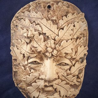 OMEN Green Man Wall Plaque - Large