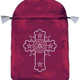 Llewellyn Worldwide Rosicrucian Satin Bag