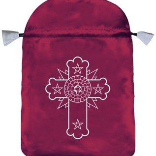 Llewellyn Worldwide Rosicrucian Satin Bag
