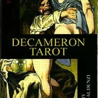 Llewellyn Worldwide Decameron Tarot Deck: Boxed 78-Card Set [With Instruction Booklet] [With Instruction Booklet] (Lo Scarabeo Decks)
