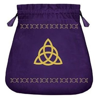OMEN Triple Goddess Velvet Tarot Bag