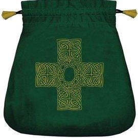 Llewellyn Worldwide The Celtic Cross Velvet Bag