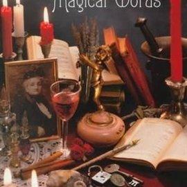 Llewellyn Worldwide Crone's Book of Magical Words