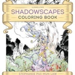 Llewellyn Worldwide Llewellyn's Shadowscapes Coloring Book