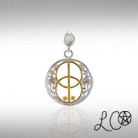Laurie Cabot's Healing Pendant with White Quartz