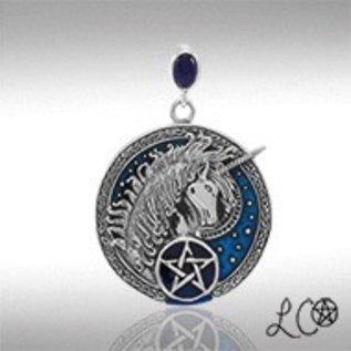 Laurie Cabot's Celtic Unicorn with Lapis Pendant