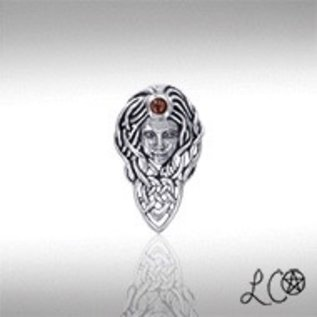 Laurie Cabot's Queen Maeve Pendant with Garnet