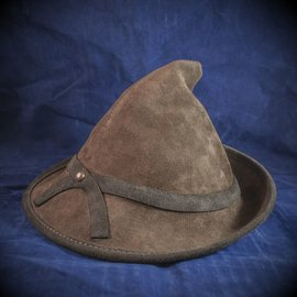 OMEN La Sorciere Witch Hat in Brown