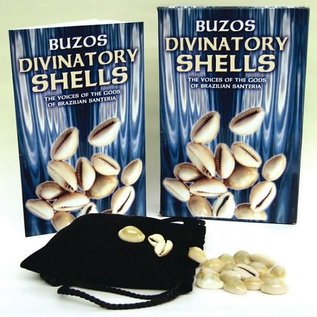 OMEN Buzios Divinatory Shells [With 16 Buzios and White Bag]
