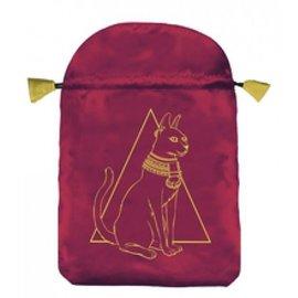 Llewellyn Worldwide Egyptian Cat Satin Bag