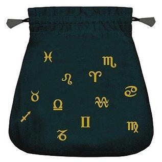 Llewellyn Worldwide Astrological Velvet Tarot Bag