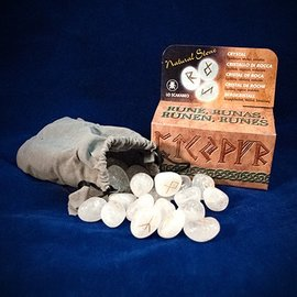 OMEN Crystal Runes Stones [With Instruction Booklet]