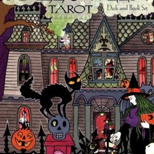 Halloween Tarot Deck & Book Set: 78-Card Deck [With Book]