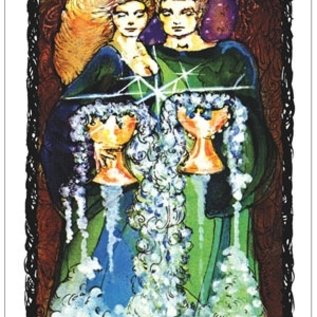 OMEN Sacred Rose Tarot [With Instruction Booklet]