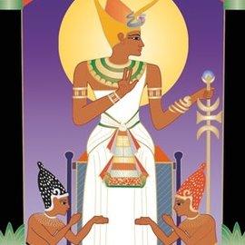 OMEN Brotherhood of Light Egyptian Tarot [With Booklet]