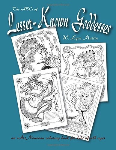 OMEN The ABCs of Lesser - Known Goddesses: An Art Nouveau Coloring ...