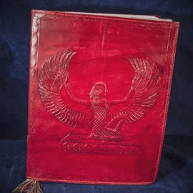 OMEN Large Isis Journal in Red