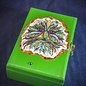 OMEN Greenman Tarot Box with Jewels by Official Salem Witch Laurie Cabot