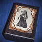 OMEN Black Witch Tarot Box with Silver Pentacle by Official Salem Witch Laurie Cabot