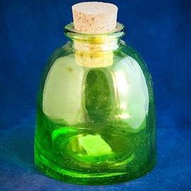 Green Ottoman Corked Bottle