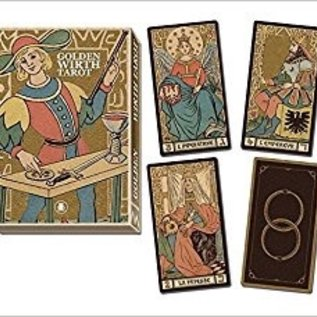 OMEN Golden Tarot of Wirth Grand Trumps