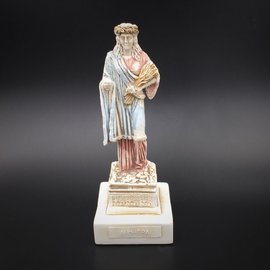 Ancient Greek Goddess Demeter statue made in Greece - 6.3 inches tall