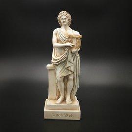 OMEN Ancient Greek God Apollo statue made in Greece - 8 inches