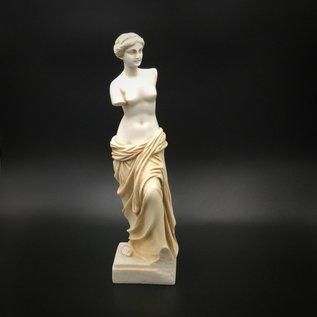 OMEN Ancient Greek Goddess Venus /  Aphrodite statue made in Greece - 9.4 inches