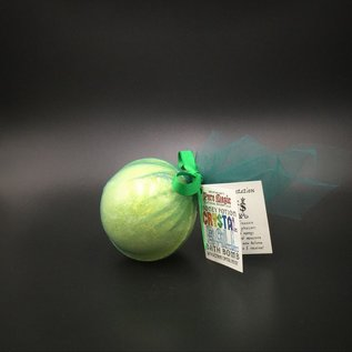 Pure Magic Money Crystal Ball Bath Bomb with a Citrine Crystal Inside!