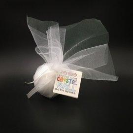 Pure Magic Protection Crystal Ball Bath Bomb with an Onyx Crystal Inside!