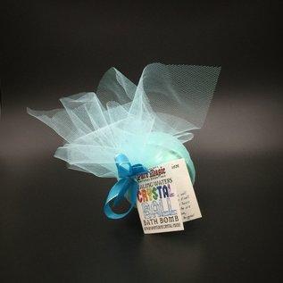OMEN Pure Magic Healing Waters Crystal Ball Bath Bomb with an Aventurine Crystal Inside!