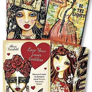 OMEN Love Your Inner Goddess Cards: An Oracle to Express Your Divine Feminine Spirit
