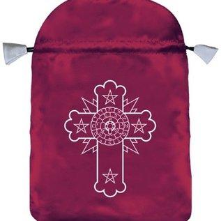 OMEN Rosicrucian Satin Bag