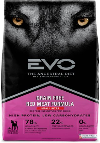 EVO Evo Red Meat Small Bites Dog Food