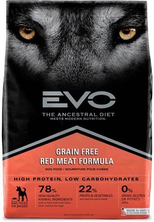 EVO Evo Red Meat Large Bites Dog Food