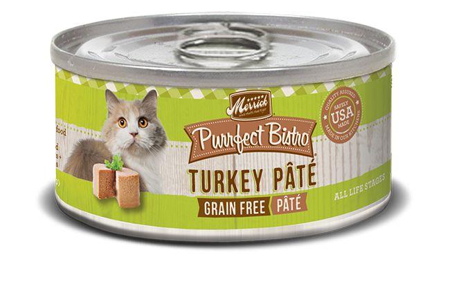 Merrick Purrfect Bistro Grain Free Turkey Pâté for Cats