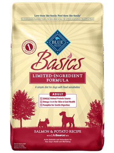 Blue - Basics BLUE Basics® Salmon & Potato Recipe For Dogs