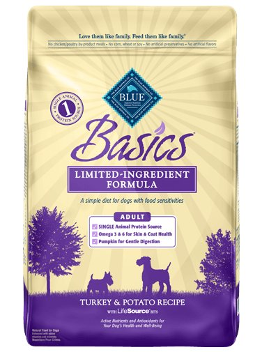 Blue - Basics BLUE Basics® Turkey & Potato Recipe For Dogs
