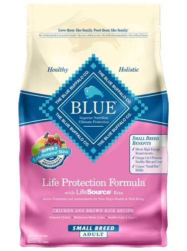 Blue - LPF Life Protection Formula® Chicken and Brown Rice Recipe For Small Breed Adult Dogs
