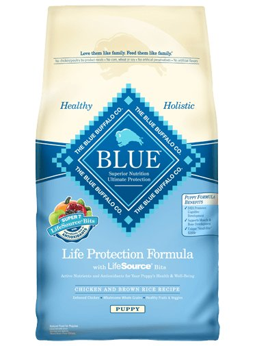 Blue - LPF Life Protection Formula® Chicken and Brown Rice Recipe For Puppies