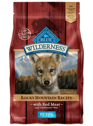 Blue - Wilderness BLUE Wilderness® Rocky Mountain Recipe™ Red Meat For Puppies