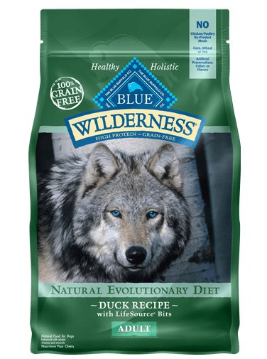 Blue - Wilderness BLUE Wilderness® Duck Recipe For Adult Dogs